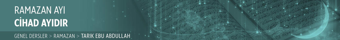 Ramazan Ayı Cihad Ayıdır